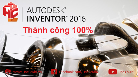 Hướng dẫn tải và cài đặt Inventor 2016 x 64 BIT