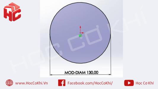Cách khắc phục lỗi MOD-DIAM trong SolidWorks