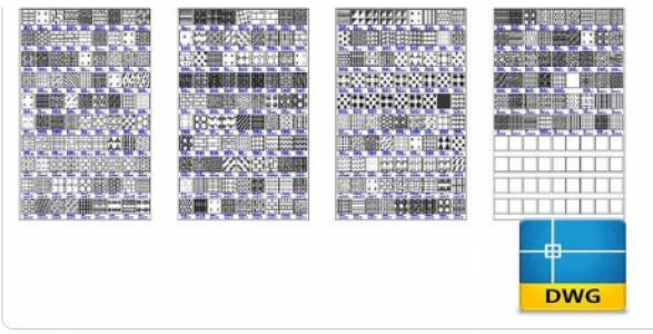 Link tải File autocad 2D thư viện hoa văn cho anh em nào cần