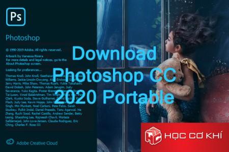 Adobe photoshop 2020 bản portable không cần cài đặt