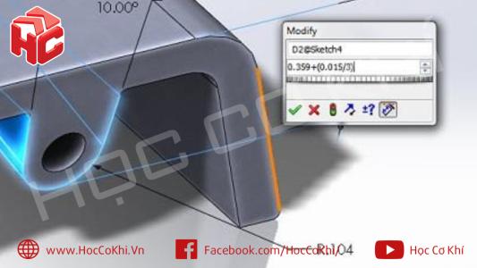 Tổng hợp mẹo-thủ thuật khi thiết kế Solidworks - Phần 4