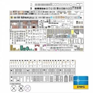 Link tải File thư viện Autocad 2D nội thất