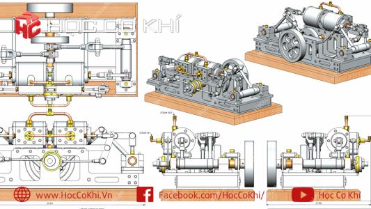 Bài tập Assembly Solidworks - Phần 4