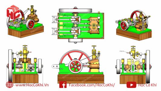 Bài tập lắp ráp Inventor assembly - Phần 1