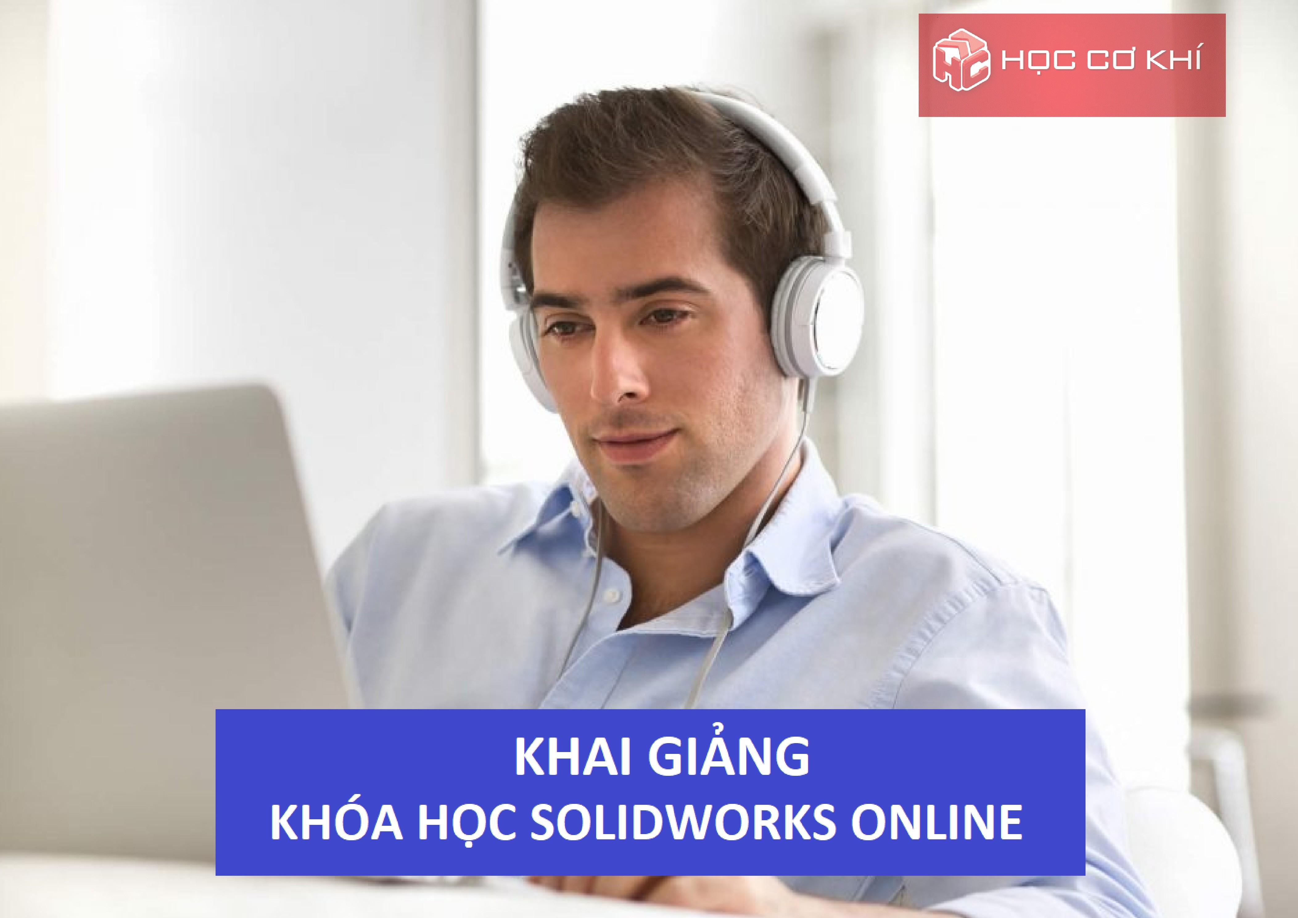 Khóa học Solidworks Online - Buổi 2